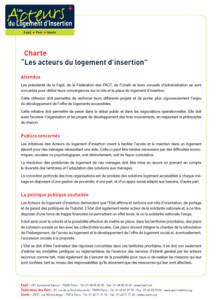 Charte ALI