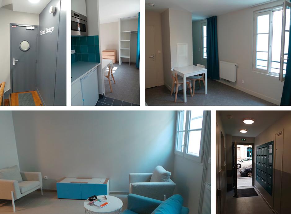 FREHA inaugure une pension de famille en plein coeur du 18eme arrondissement