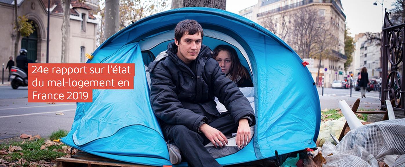 La Fondation Abbé Pierre présente son 24ème rapport de l'état du mal-logement en France