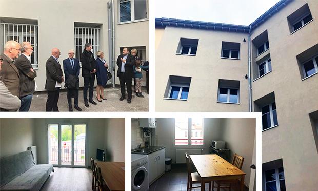 Inauguration logements St-Etienne