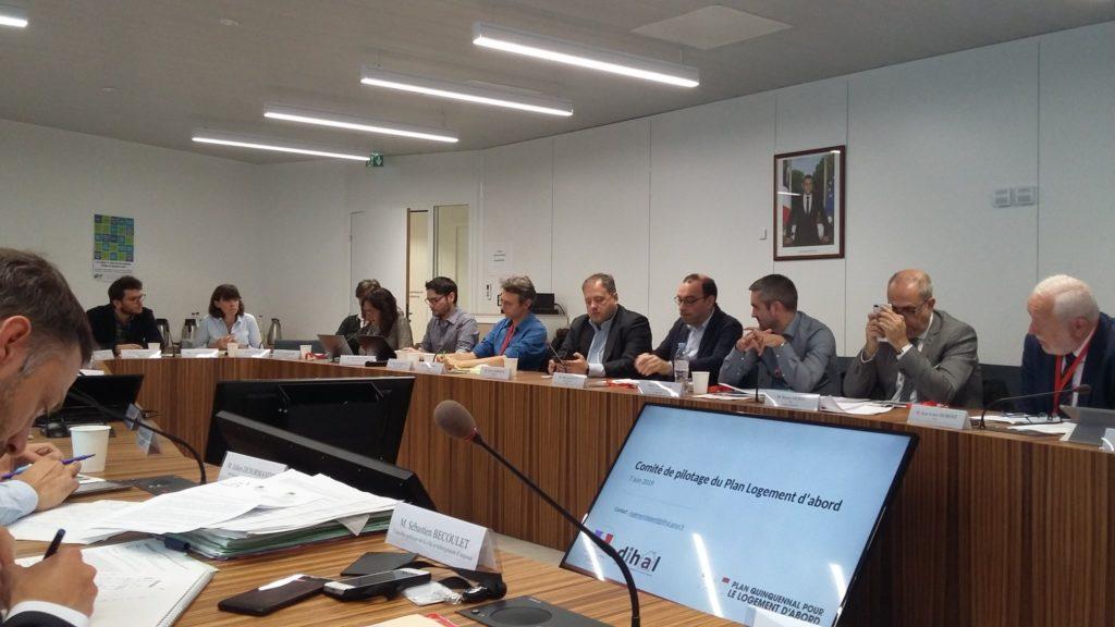 Comité Logement d'Abord Juin 2019
