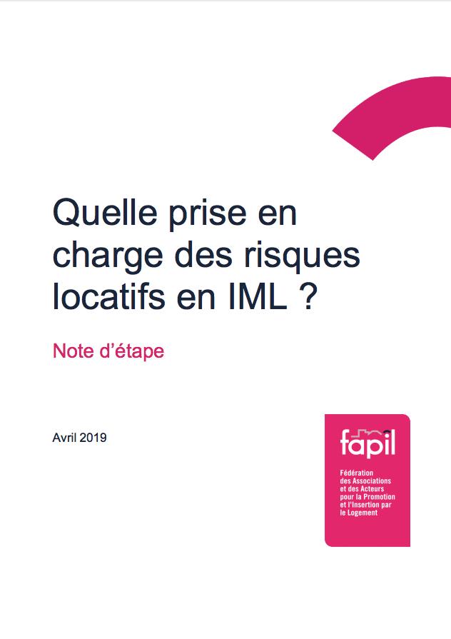 Quelle prise en charge des risques locatifs en IML ?