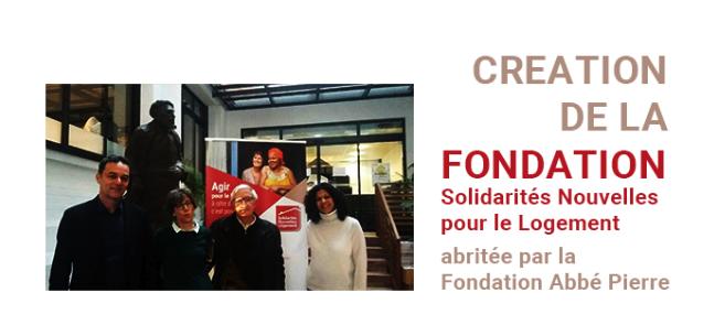 Lancement de la Fondation SNL