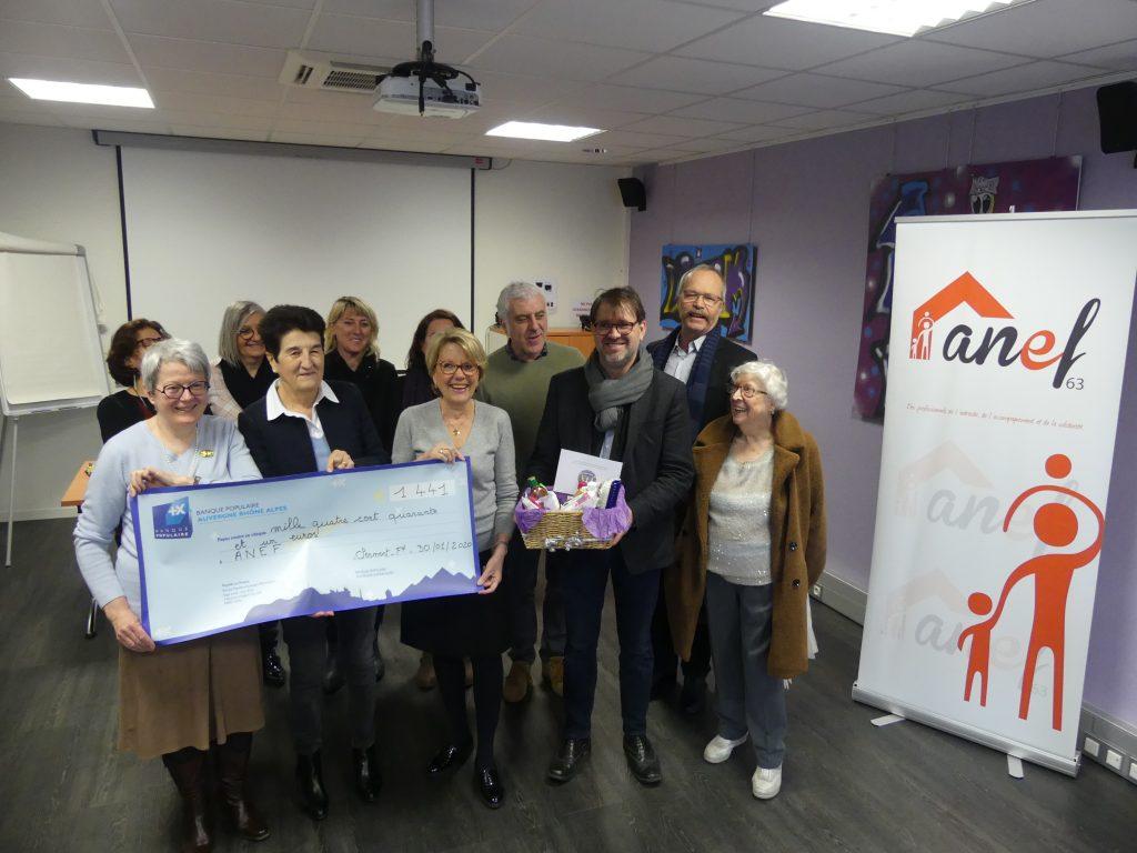 L'ANEF 63 reçoit un soutien pour la création de kits destinés aux femmes victimes de violences