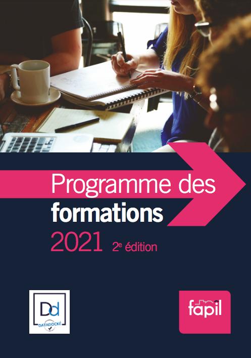 Catalogue de formation 2021