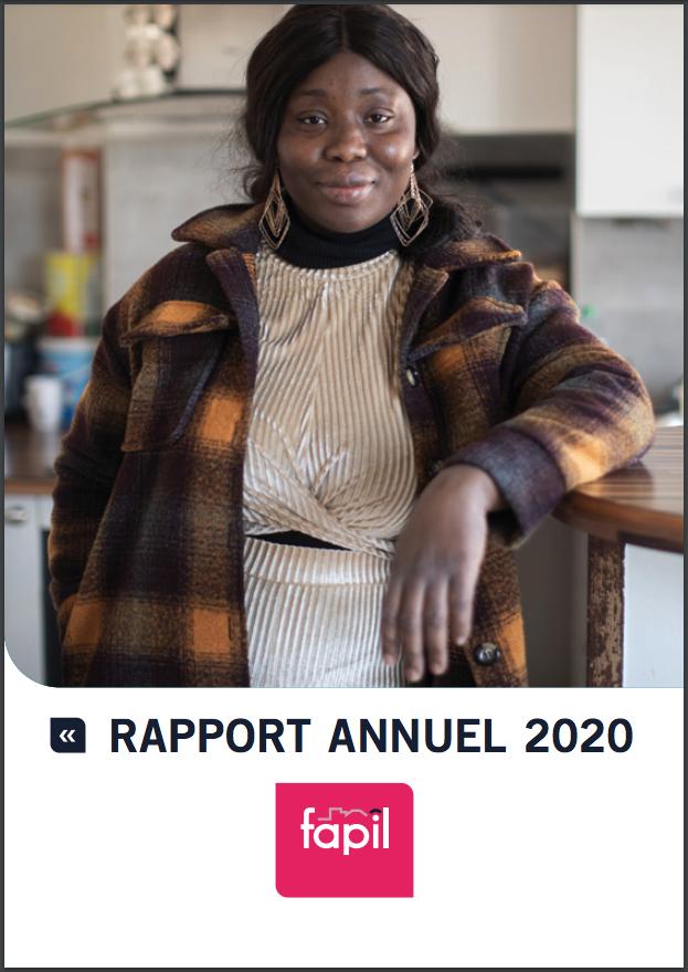 Couverture Rapport annuel 2020