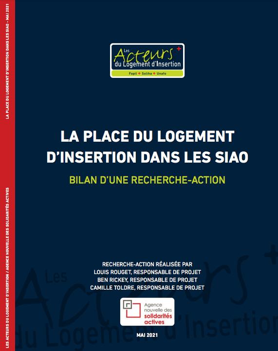 Recherche-action : La Place du logement d'insertion dans les SIAO