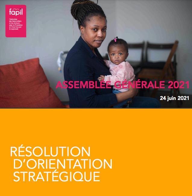Résolution d'orientation stratégique