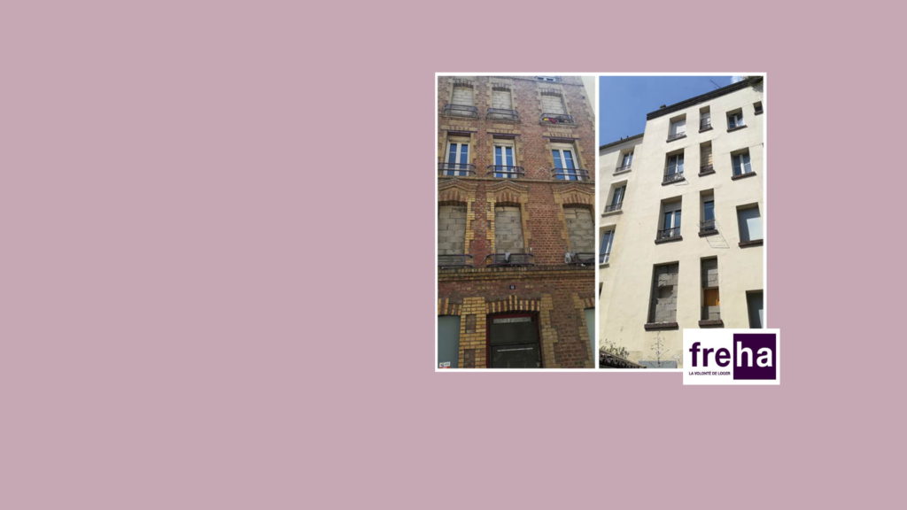 Freha - réhabilitation à Saint-Denis