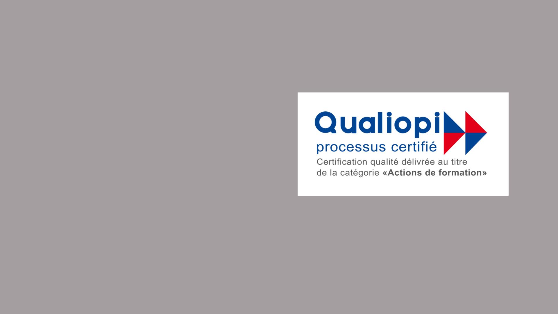 Le centre de formation de la Fapil reçoit la certification Qualiopi